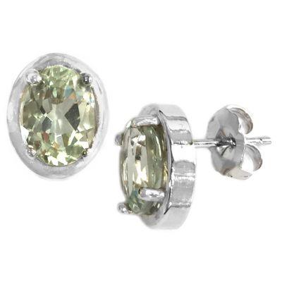 Green Mystic Topaz Earrings
